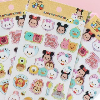 Autocollants Tsum Tsum Friends Toghether