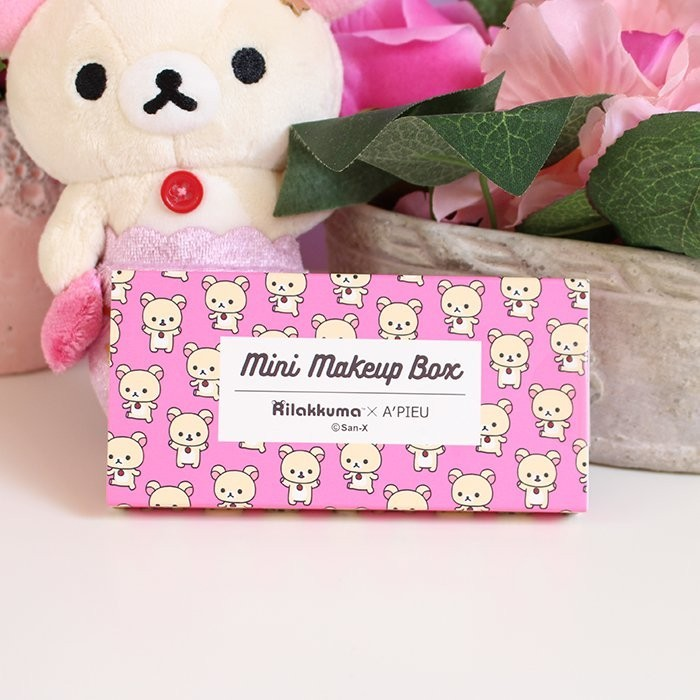 Rilakkuma x A'PIEU Mini Makeup box Korilakkuma