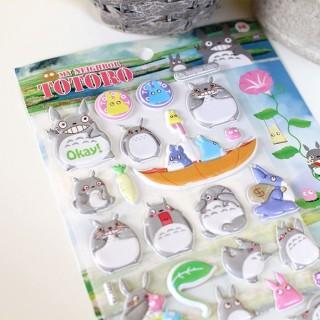 Autocollant 3D Totoro Hi