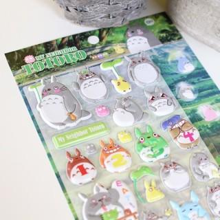 Autocollant 3D Totoro Oh !