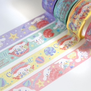 Lot de 4 Masking tape Cinamoroll