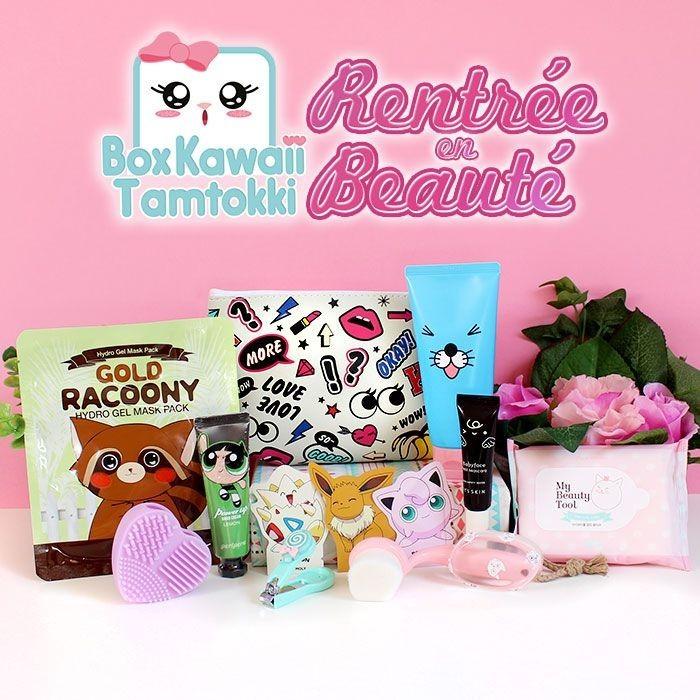 Box Kawaii Tamtokki : Rentrée en Beauté
