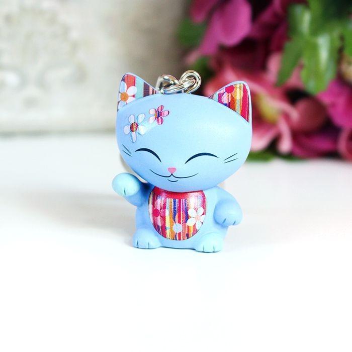 Porte clés figurine Mani The Lucky Cat 2017