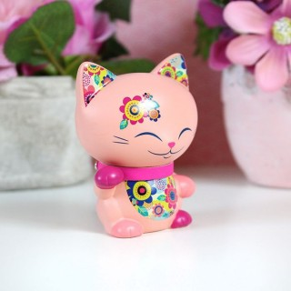 Figurine Mani The Lucky Cat Pêche 7cm