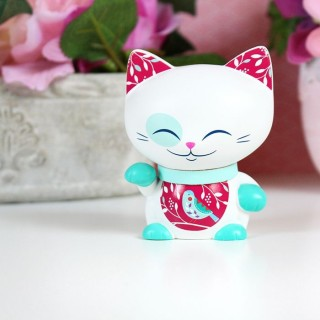 Figurine Mani The Lucky Cat Turquoise 7cm