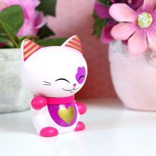 Figurine Mani The Lucky Cat Rose 7cm