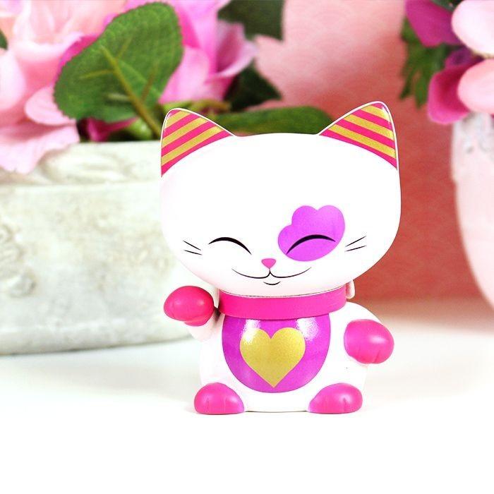 Figurine Mani The Lucky Cat Rose 7cm