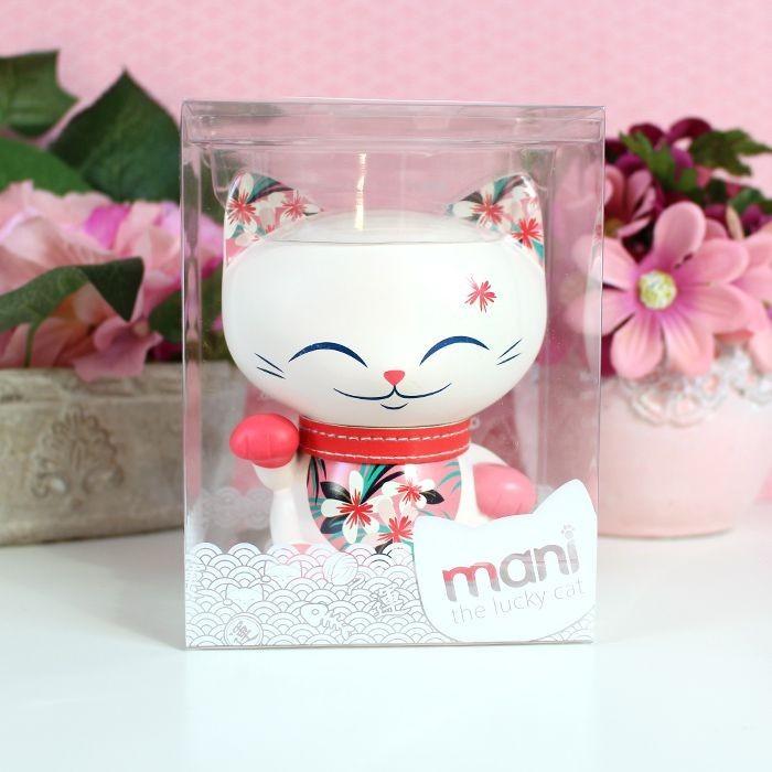 Mani The Lucky Cat Hawaii 11 cm