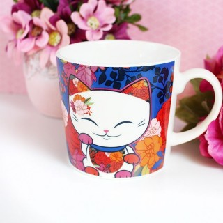 Tasse Mani The Lucky Cat Couleurs d'automne