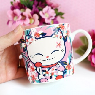 Tasse Mani The Lucky Cat Hawaï Style