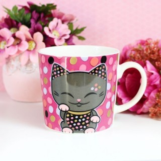 Tasse Mani The Lucky Cat Petit Confetti