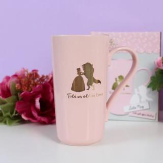 La Belle et la Bête mug Latte-Macchiato Floral