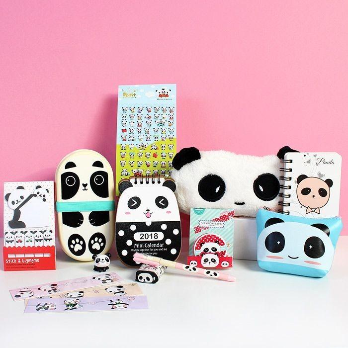 Box Kawaii Tamokki Little Panda
