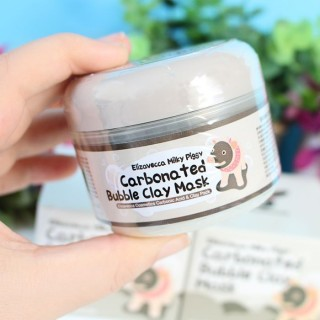 Carbonted Bubble Clay Mask ELIZAVECCA : Masque moussant au carbone