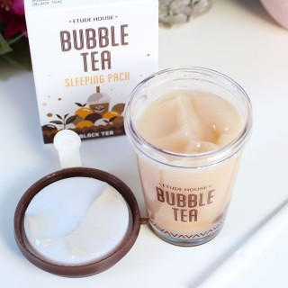 Bubble Tea Sleeping Pack Etude House : Soin de nuit