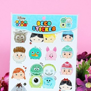Déco sticker Tsum Tsum Rose