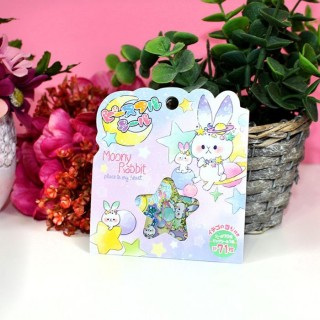 Pochette de stickers Monny Rabbit