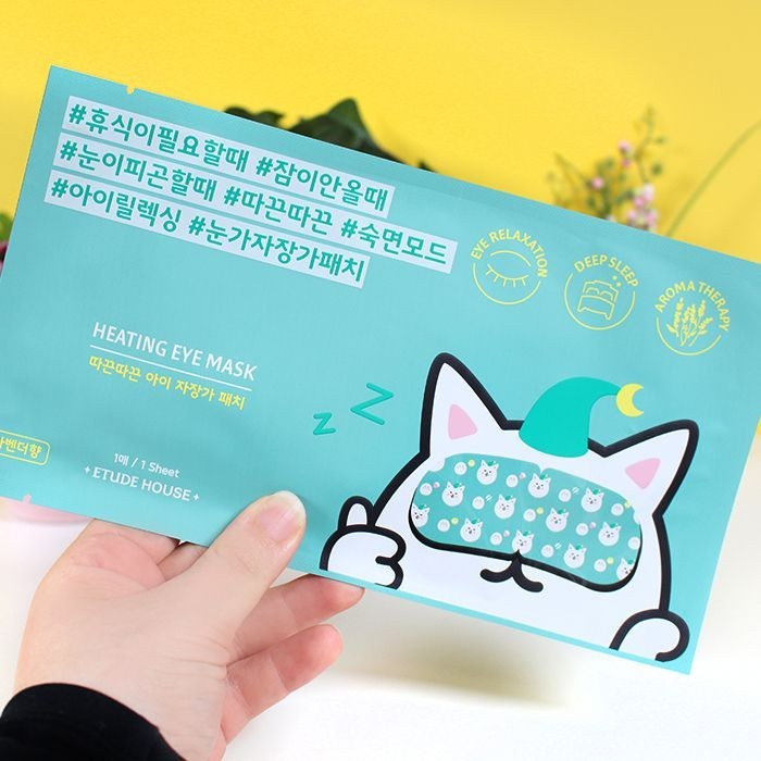 Patch chauffant pour les yeux - Heating Eye Mask - Etude House