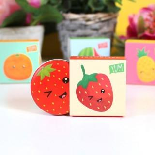 Baumes à lèvres fruits kawaii