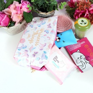 Trousse de toilette Princesse Licorne / Tamtokki.com - Boutique Kawaii en France IM#4613
