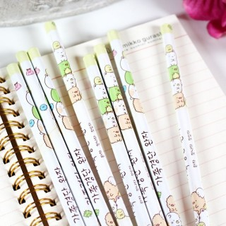 Crayon à Papier Sumikko Gurashi Jaune