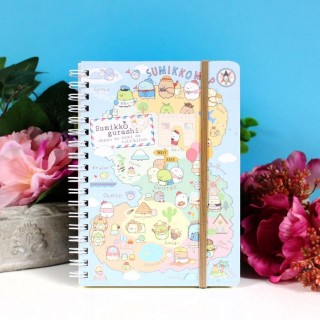 Carnet de note Sumikko Gurashi World Tour