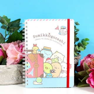 Carnet de note Sumikko Gurashi Happy Trip