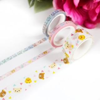 Washi Tape Rilakkuma Petits Triangles
