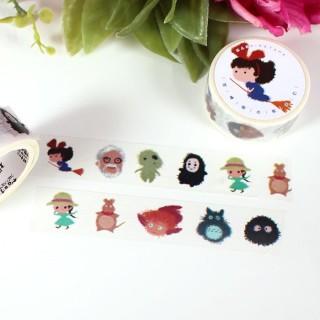 Washi Tape Hayao Miyazaki Ghibli