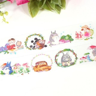 Washi Tape XL Totoro Aquarelle