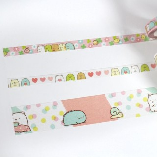 Washi Tape Set Sumikko Gurashi (rose)