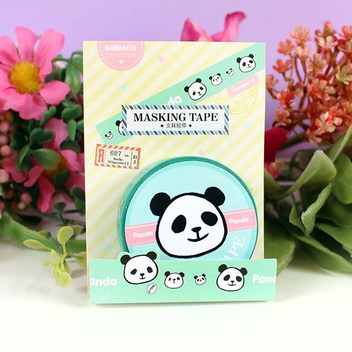 Washi Tape Panda Malin