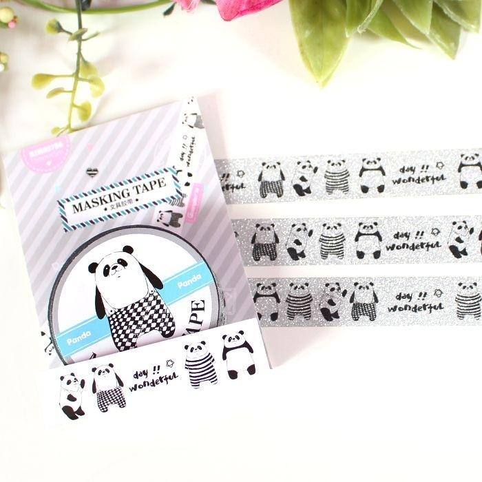 Washi Tape Fashion Panda