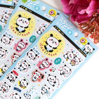 Autocollant Kamio Panda