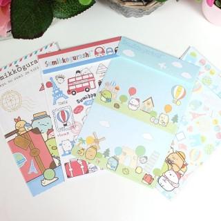Set de Papier à Lettre Sumikko Gurashi