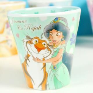 Verre Disney Kawaii Jasmine et Raja