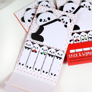 Sticky Notes et Big Memo Panda