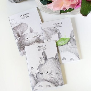Cahier Totoro style crayonné