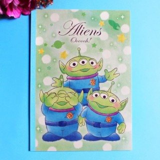 Cahier de note Disney - Aliens