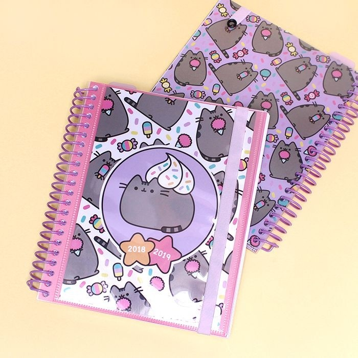 Agenda personnalisable Pusheen The Cat Creme