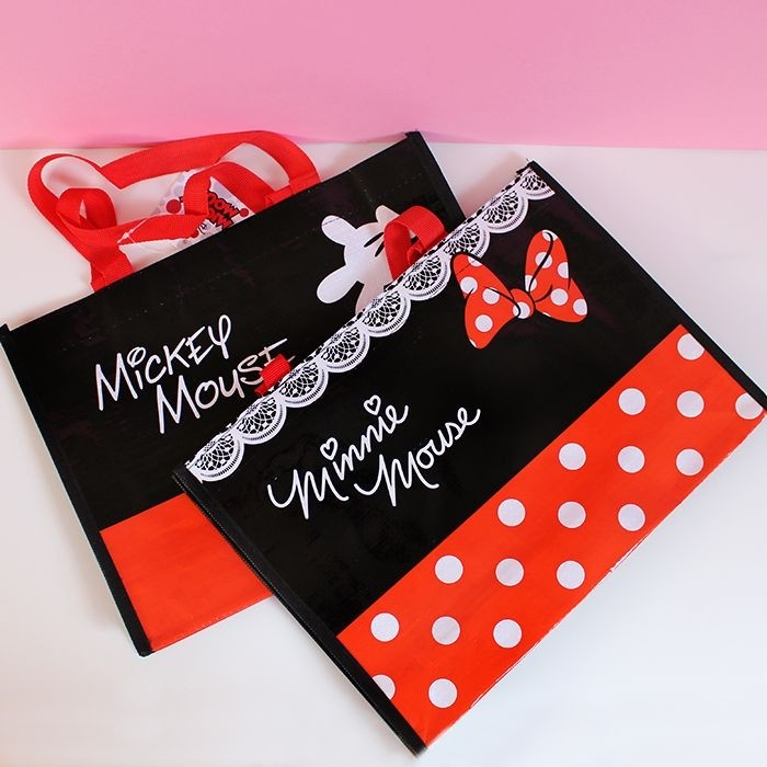 Sac shopping Disney Mickey et Minnie