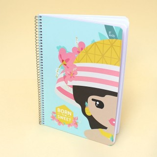 Cahier Lil' Ledy - Pineapple A5