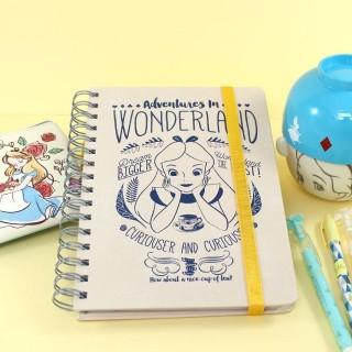 Carnet Disney - Alice aux Pays des Merveilles (A5)