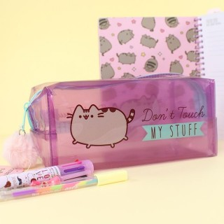 Trousse transparente Pusheen The Cat