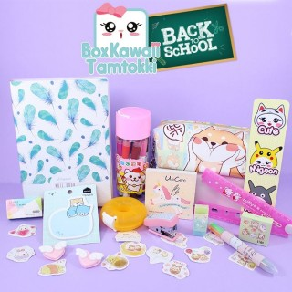 Box Kawaii Tamtokki Back To School