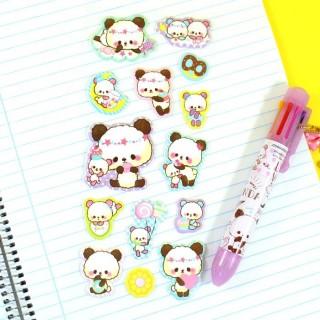Autocollant Moji Moji Panda Super Marshmallow