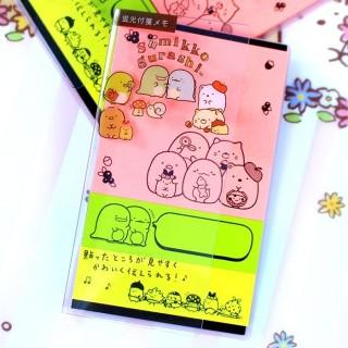 Post-it Sumikko Gurashi Fluo 3 designs - Rose