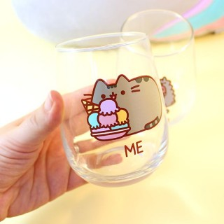 2 Verres Pusheen The Cat