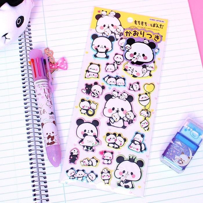 Autocollant mousse Mochi Mochi Panda