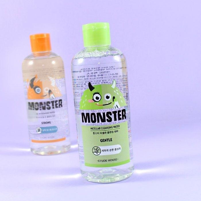 Eau Micellaire démaquillante Monster 300ml ETUDE HOUSE